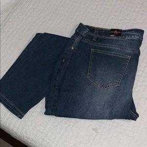Ashley Stewart Flawless Skinny Jeans 22 R